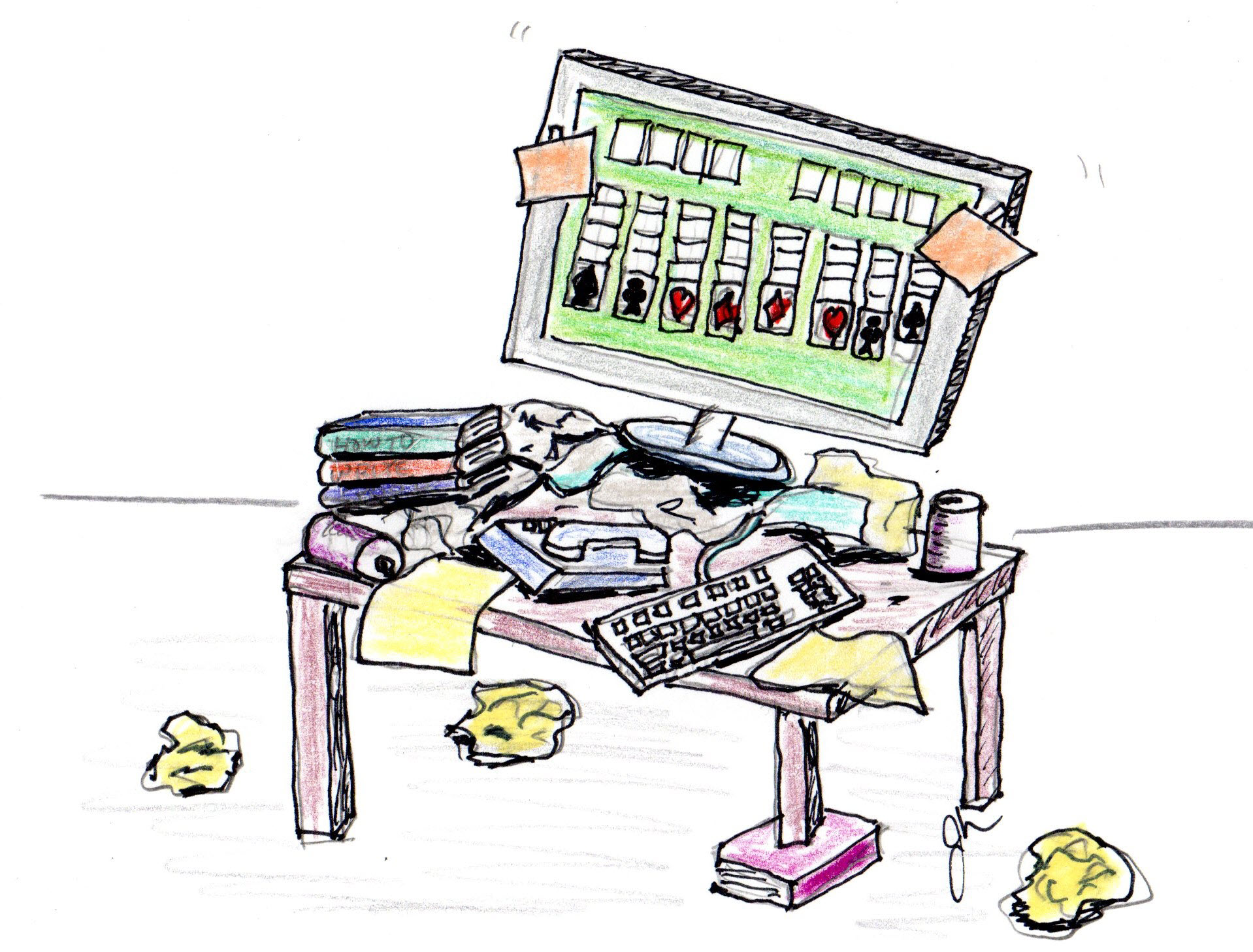 Messy Desk-Messy Desk-8