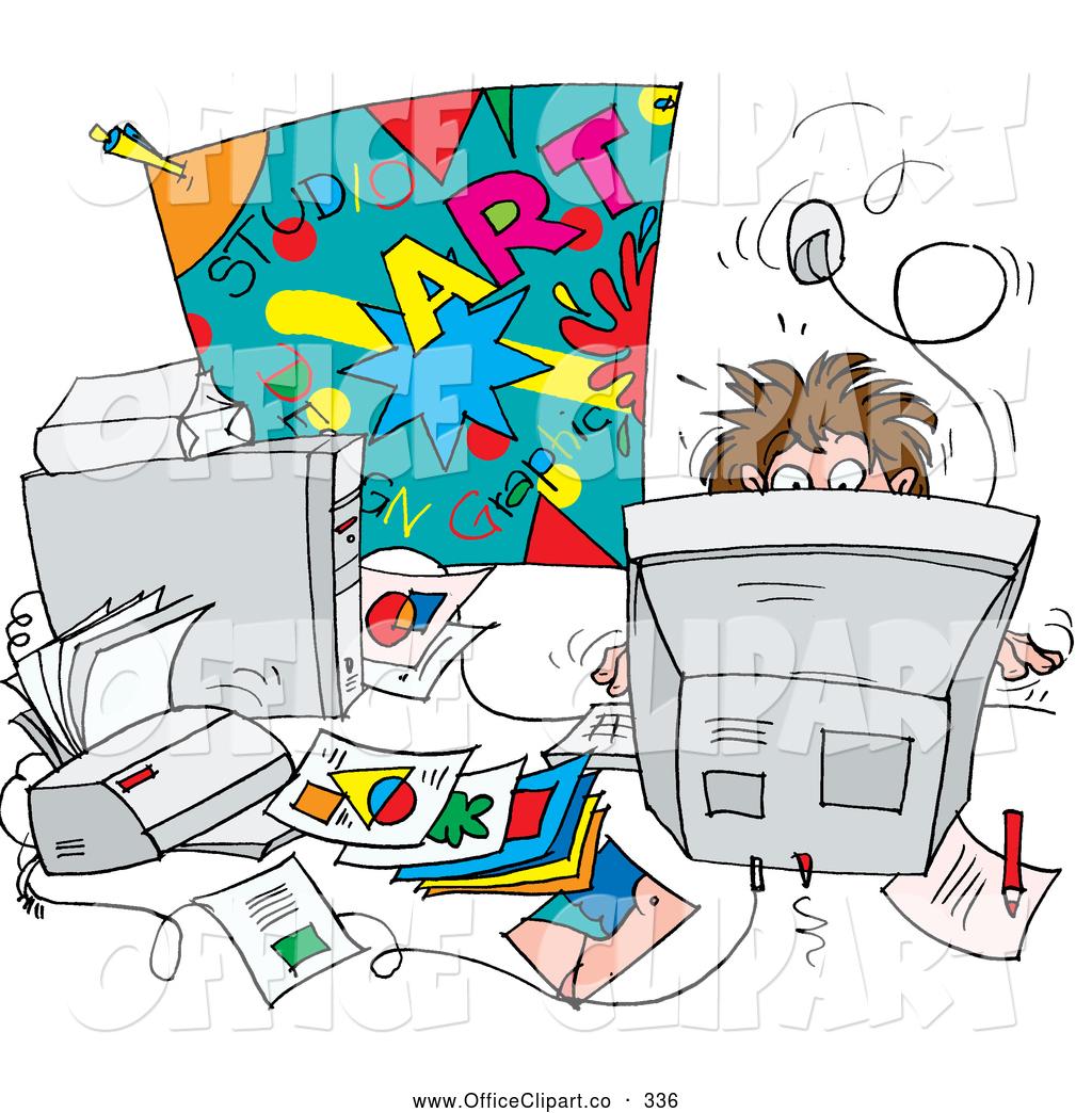Messy Desk Note Clipart #1-Messy Desk Note Clipart #1-9