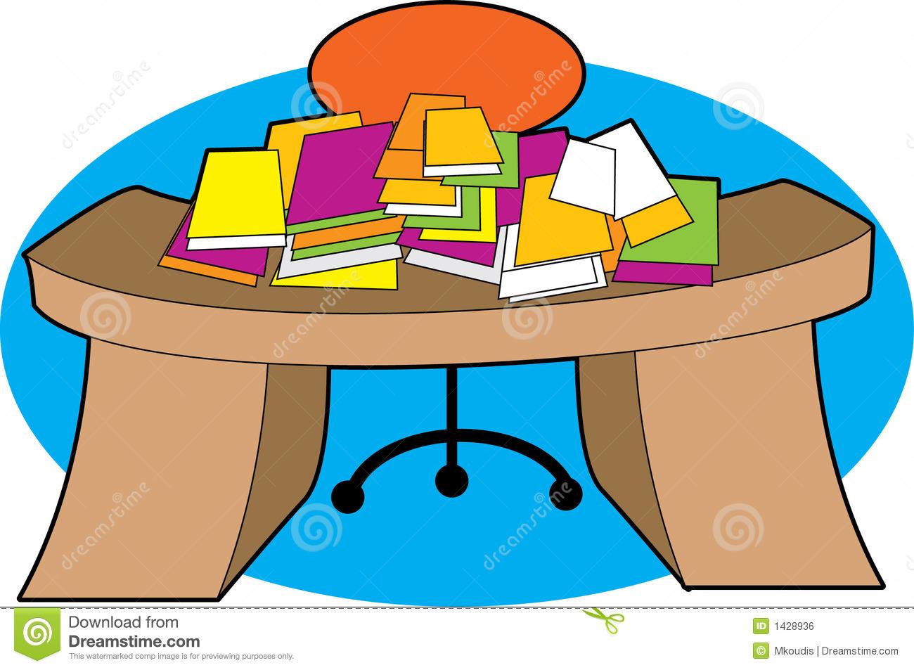 Messy Desk Royalty Free Stock Image-Messy Desk Royalty Free Stock Image-10