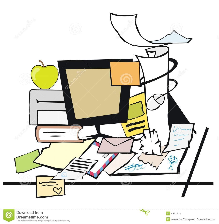 Messy Desk Stock Photography-Messy desk Stock Photography-14