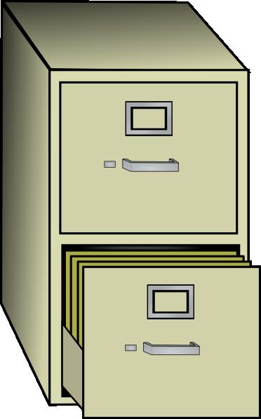 Metal File Cabinet Clip Art At Clker Com Vector Clip Art Online