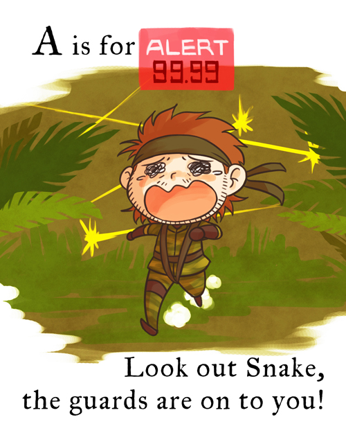 is for ALERT 99.99 Look out Snake, the g-is for ALERT 99.99 Look out Snake, the guards are on to you!-15