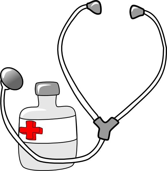 Metalmarious Medicine And A S - Stethoscope Images Clip Art