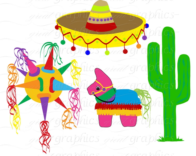 Mexican Fiesta Clip Art ..