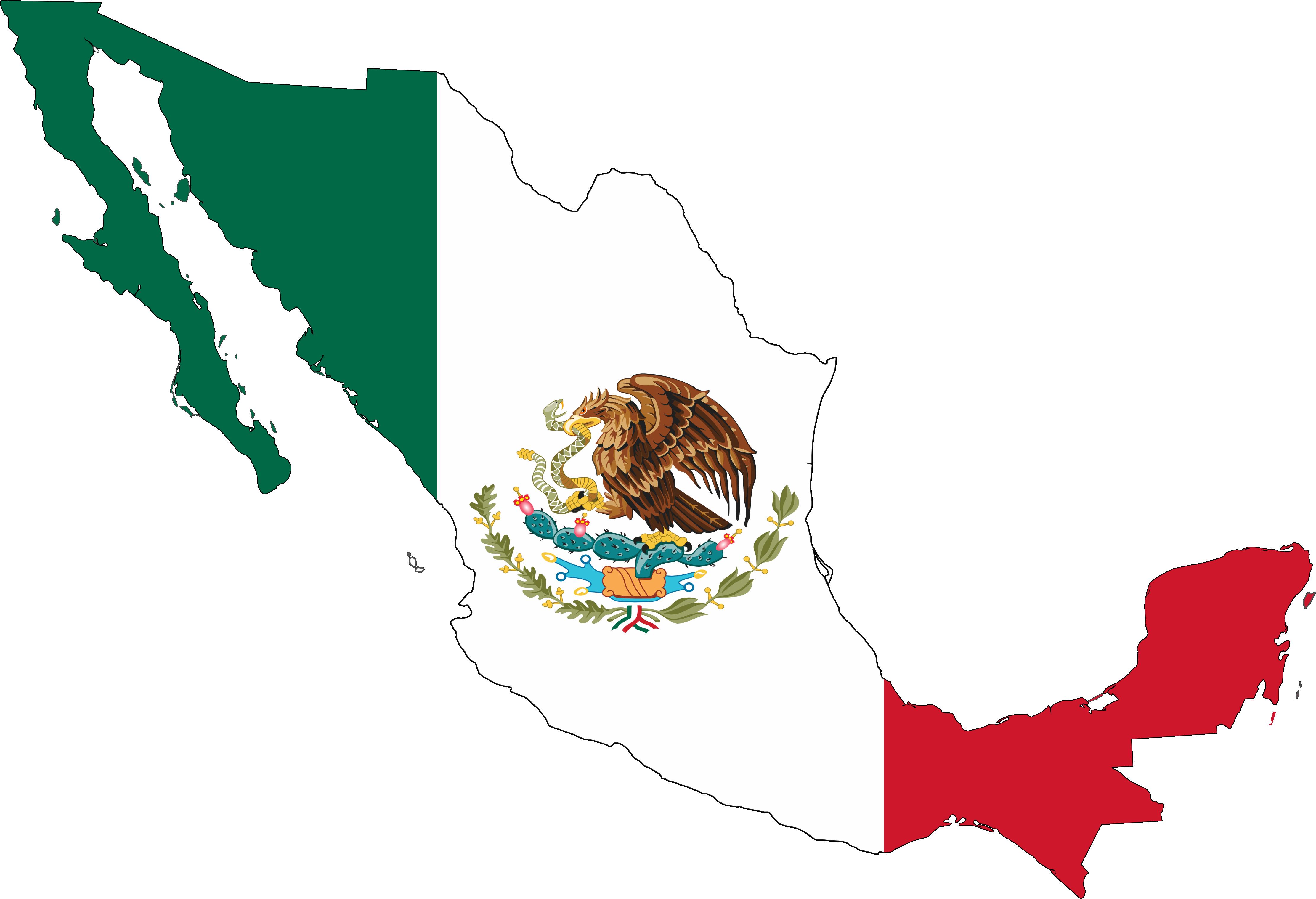Mexican Flag Clip Art
