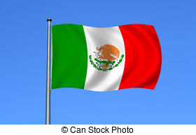 mexican flag Clipartby ...