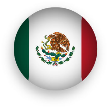 Mexican Flag round-Mexican Flag round-13
