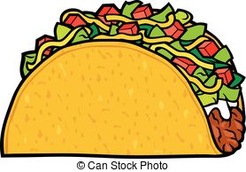 Mexican Food Menu Stamps Vector Clipartby daveh90016/497; taco - mexican food