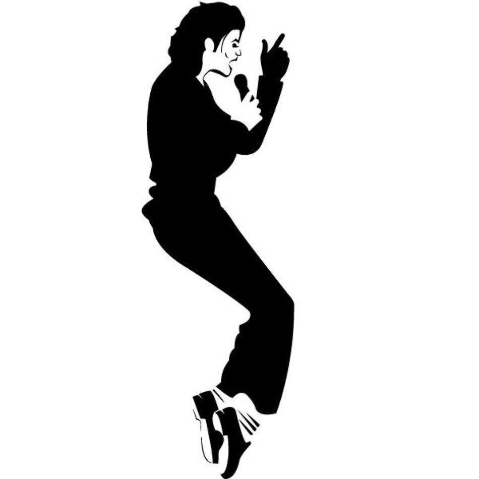 Michael Jackson Moonwalk Clip - Michael Jackson Clipart