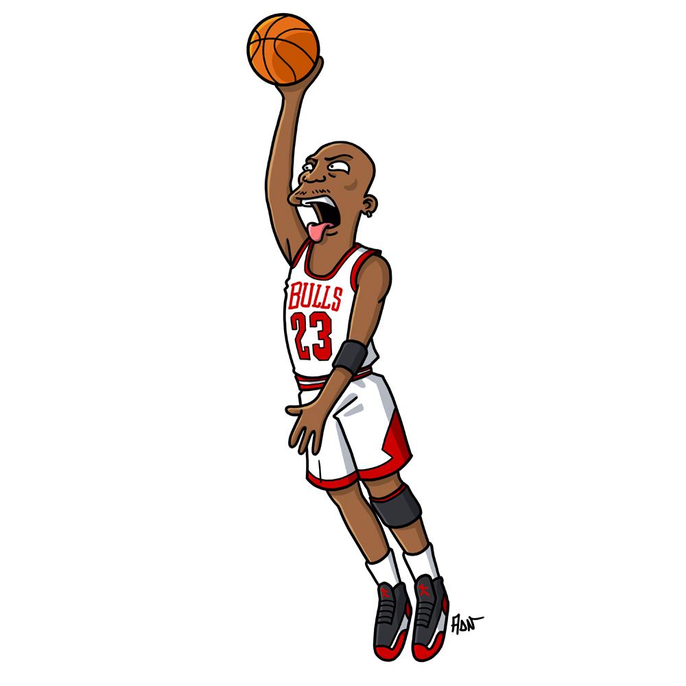 Les légendes vivantes de NBA : Michael Jordan