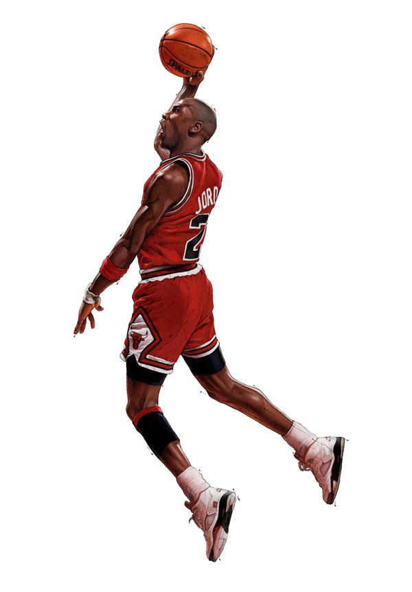 Michael Jordan Icon PNG 10648