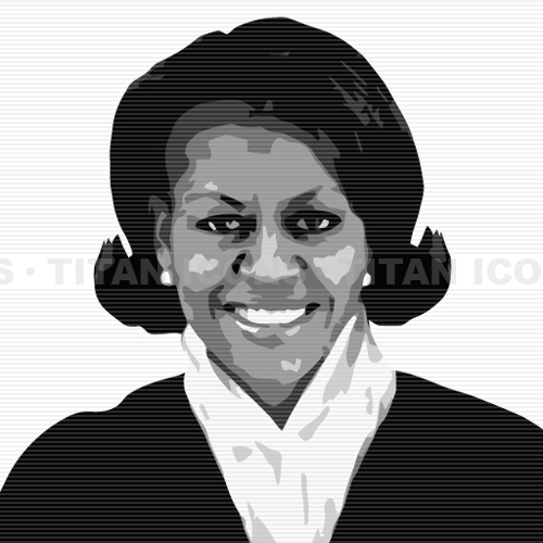 Michelle Obama Clip Art-Michelle Obama Clip Art-15