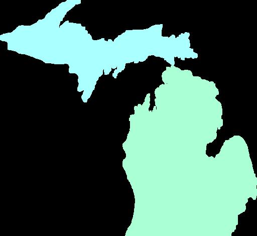 Michigan Map Clean Teal Clip Art Vector -Michigan Map Clean Teal Clip Art Vector Online Royalty Clipart .-8