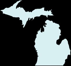 Michigan Mapclean Teal Clip Art-Michigan Mapclean Teal Clip Art-10
