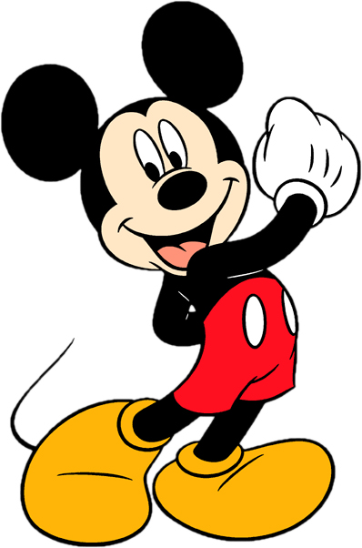 mickey mouse birthday clipart