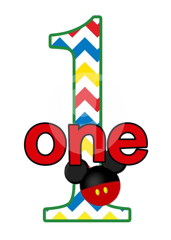 Mickey Mouse Birthday Clipart-mickey mouse birthday clipart-7