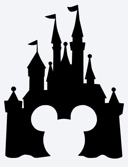 MICKEY DISNEY CASTLE Vinyl Decal * Picture Frame * Window * Coffee Mug * Yeti *