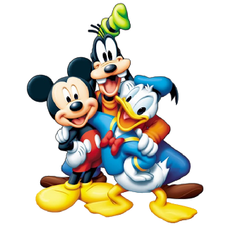 Mickey Mouse And Friends Cartoon Picture-Mickey Mouse And Friends Cartoon Pictures On A Transparent Background-15