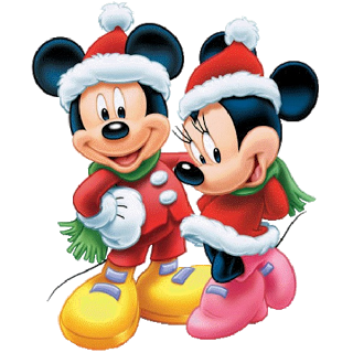 Mickey Mouse And Friends Xmas Clip Art Images