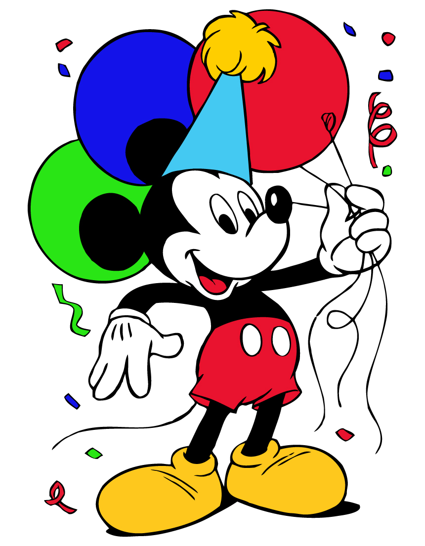 Mickey Mouse Birthday Clipart Clipart Pa-Mickey Mouse Birthday Clipart Clipart Panda Free Clipart Images-8
