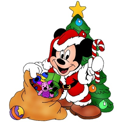 Mickey Mouse Christmas Clip Art