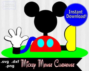 Mickey Mouse Club House Clip Art