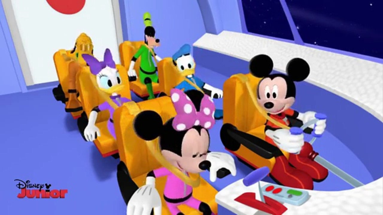 Mickey Mouse Club House - Space Adventure - Song - Disney Junior UK HD