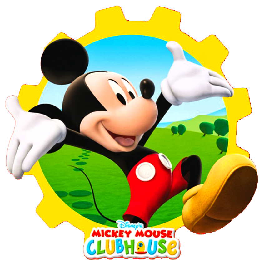 Mickey Mouse Clubhouse Clipart Cliparthu-Mickey Mouse Clubhouse Clipart Cliparthut Free Clipart-1