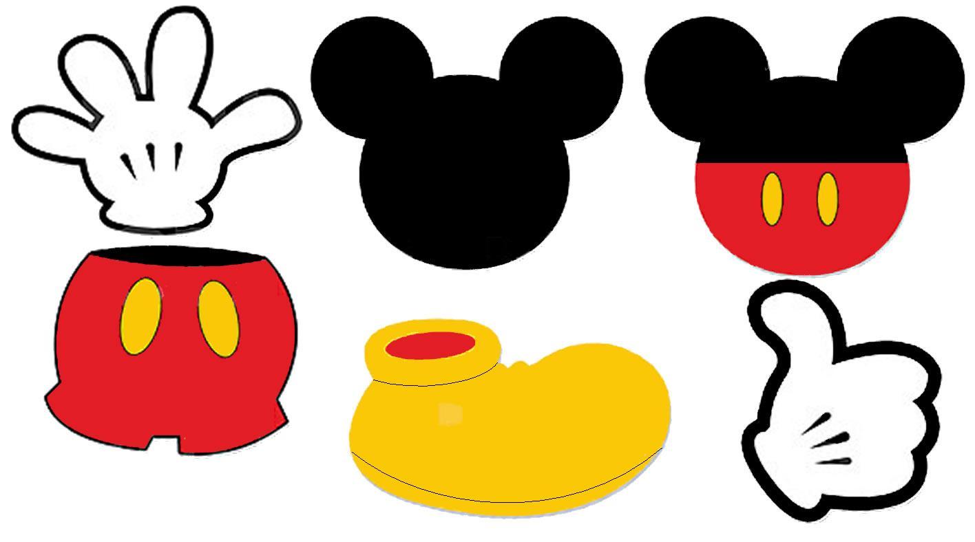 ... Mickey Mouse Ears Clip Art ...