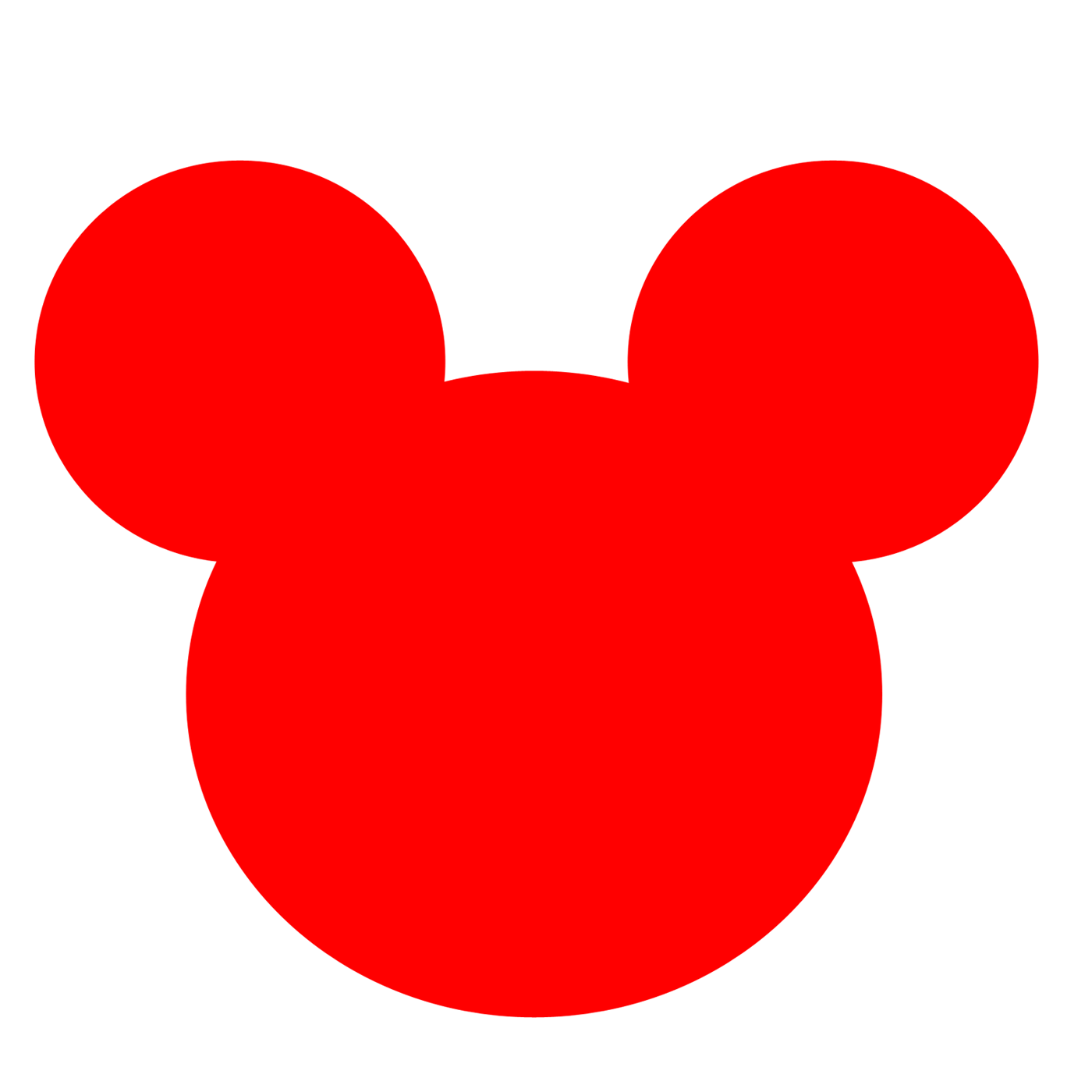 ... Mickey Mouse Ears Clip Art ...