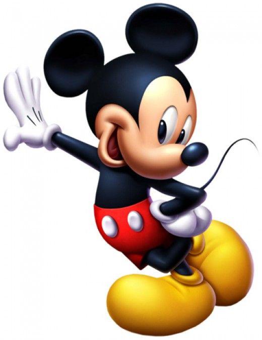 Mickey Mouse es un personaje ficticio de la serie del mismo nombre, emblema de la
