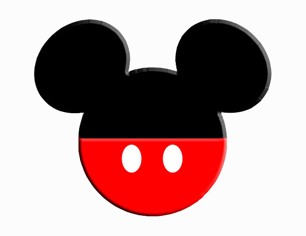 Mickey mouse head clipart - .
