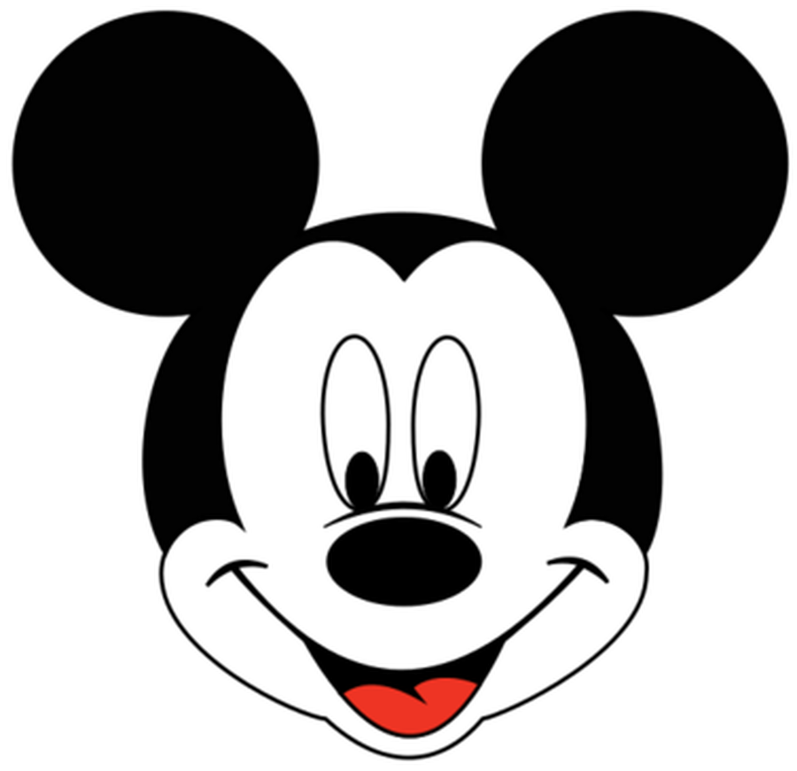 Mickey Mouse Head Clipart .