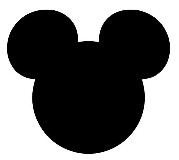 Mickey Mouse Silhouette Clip  - Minnie Mouse Silhouette Clip Art