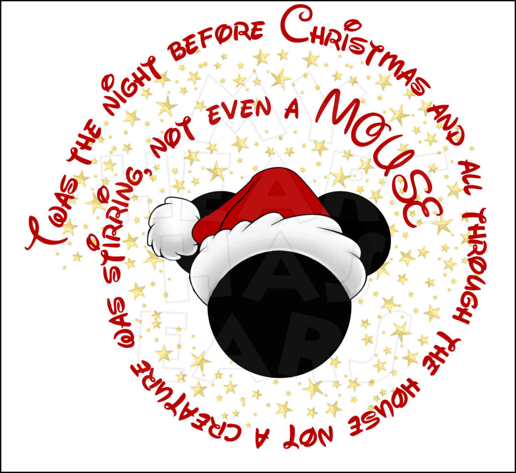 Mickey Mouse Twas The Night Before Chris-Mickey Mouse Twas The Night Before Christmas Instant Download Digital-11