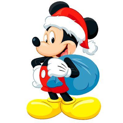 Mickey Mouse Xmas - Christmas Clip Art I-Mickey Mouse Xmas - Christmas Clip Art Images-12