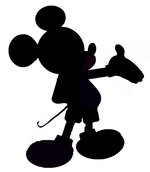 Mickey Silhouette