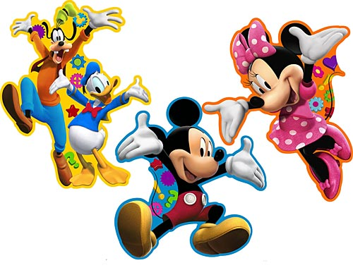 Mickey Wall Stickers Mickey Mouse Clubhouse Room Decor