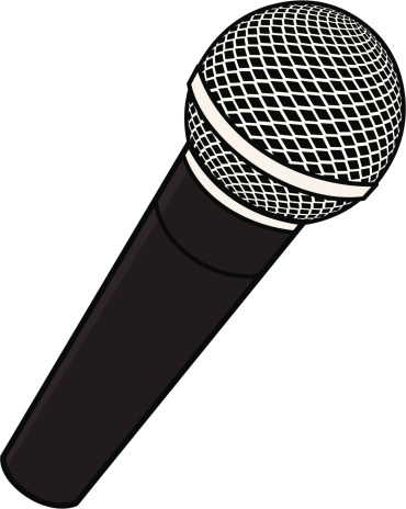 Microphone Clip Art u0026amp; Microphone Clip Art Clip Art Images .