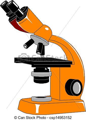 Microscope, Vector Illustration.-Microscope, Vector Illustration.-15
