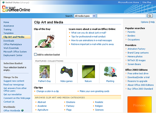 Microsoft Clip Art Button-Microsoft Clip Art Button-3