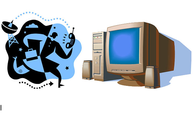 A selection of Clip Art from Microsoft Office