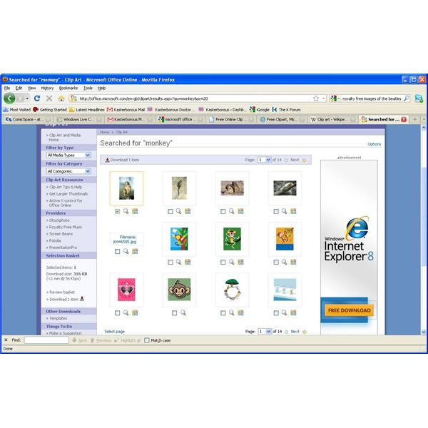 microsoft clipart gallery free download