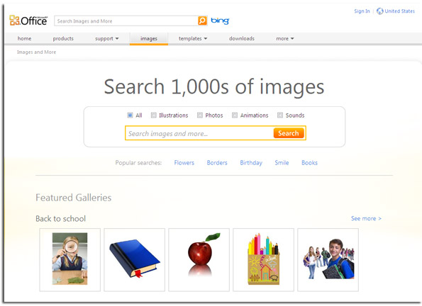 Microsoft Gallery Free Clipart