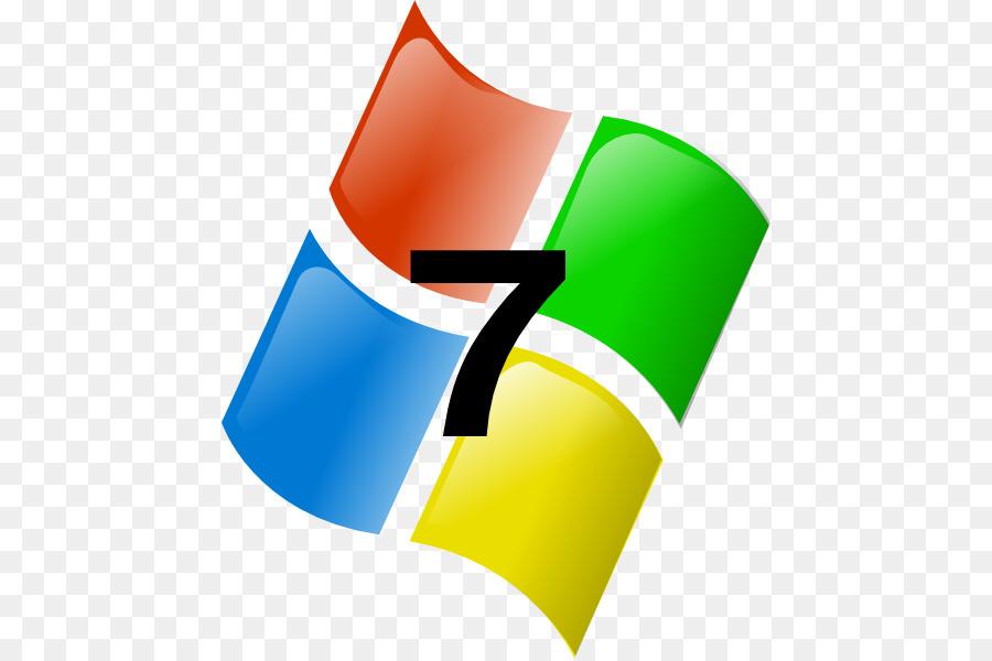 Microsoft Windows Windows 7 W - Microsoft Windows Clipart
