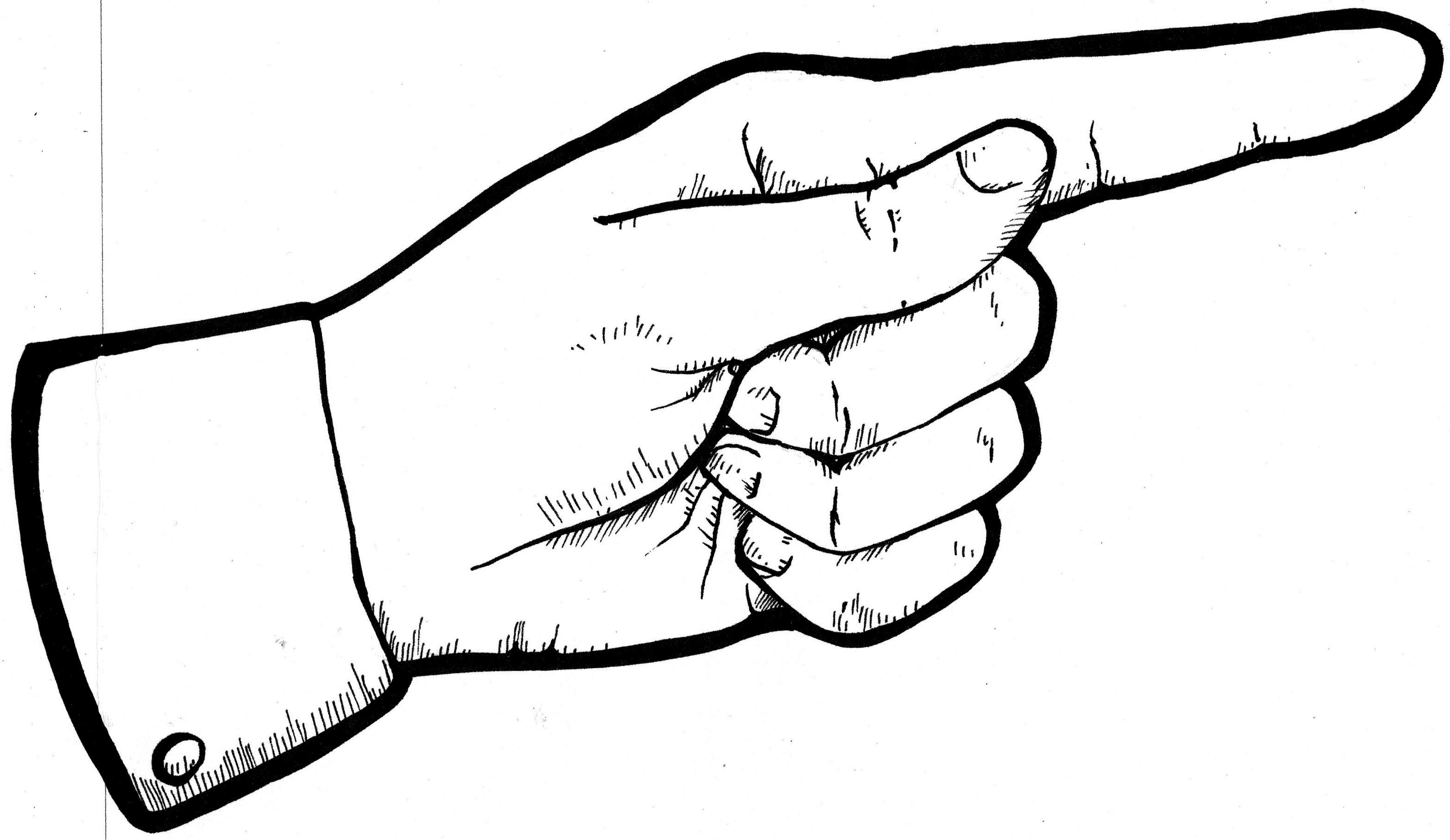 Middle Finger Clipart