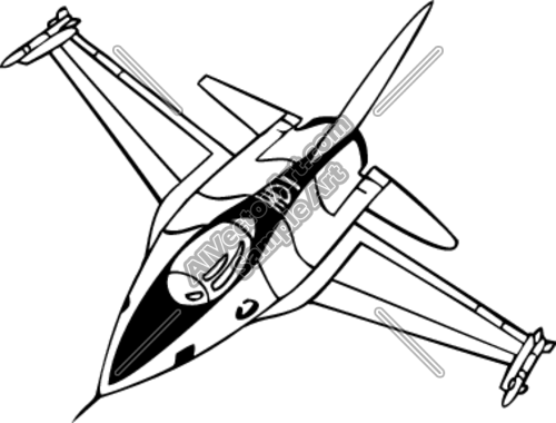Military Fighter Jet Clipart  - Jet Clip Art