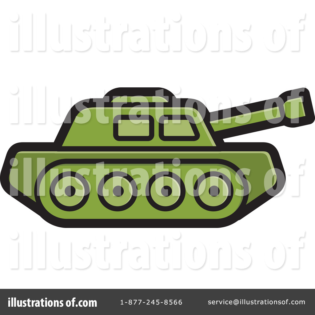 Royalty-Free (RF) Military Tank Clipart Illustration by Lal Perera - Stock  Sample