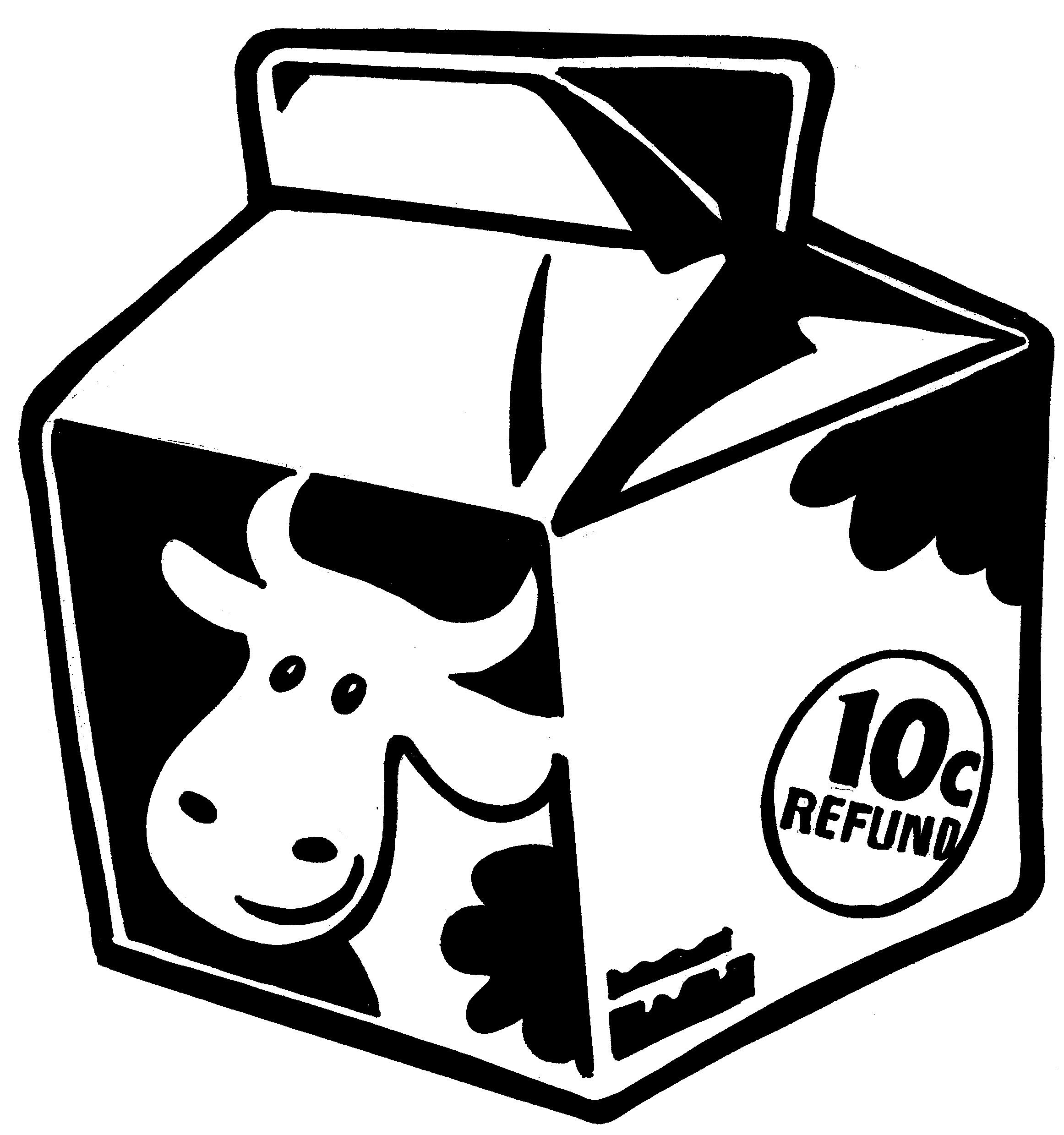 Milk Carton Clip Art #6474 - Milk Carton Clipart