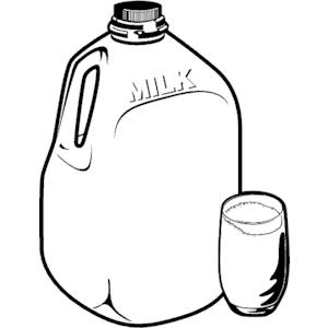 Milk jug Glass Frame